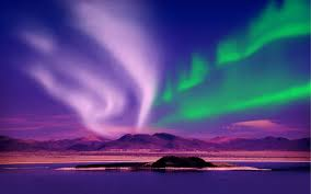 Northern Lights or the Aurora Borealis, Changing its flash continuously to the delight of the surface dwellers below